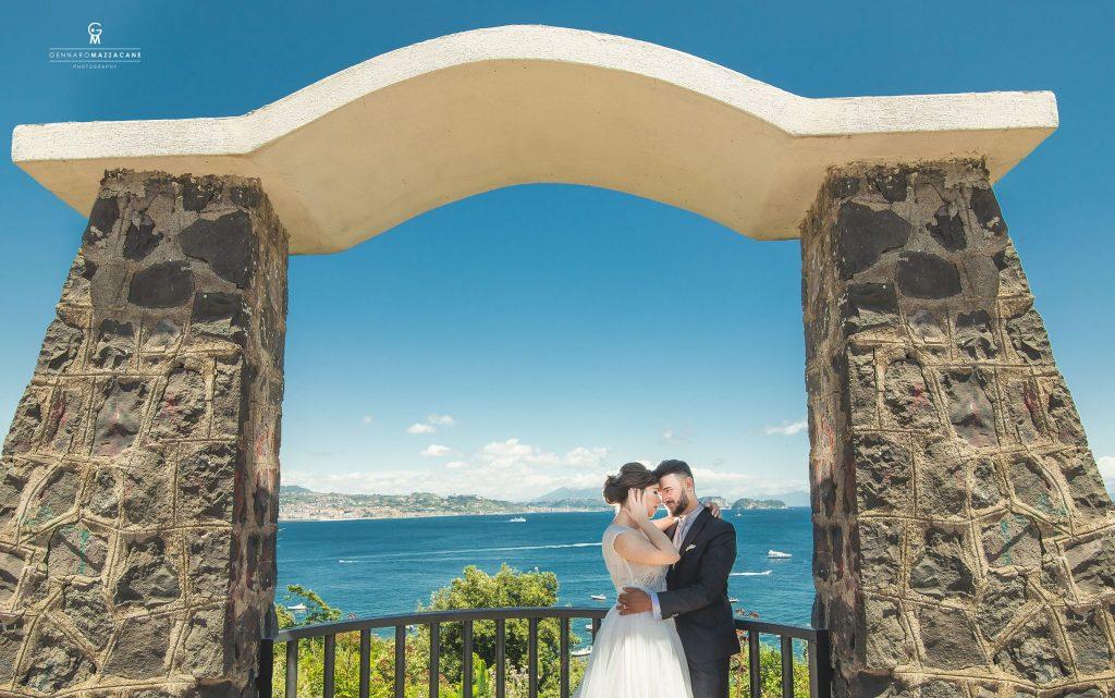 Fotografia matrimonio in costiera