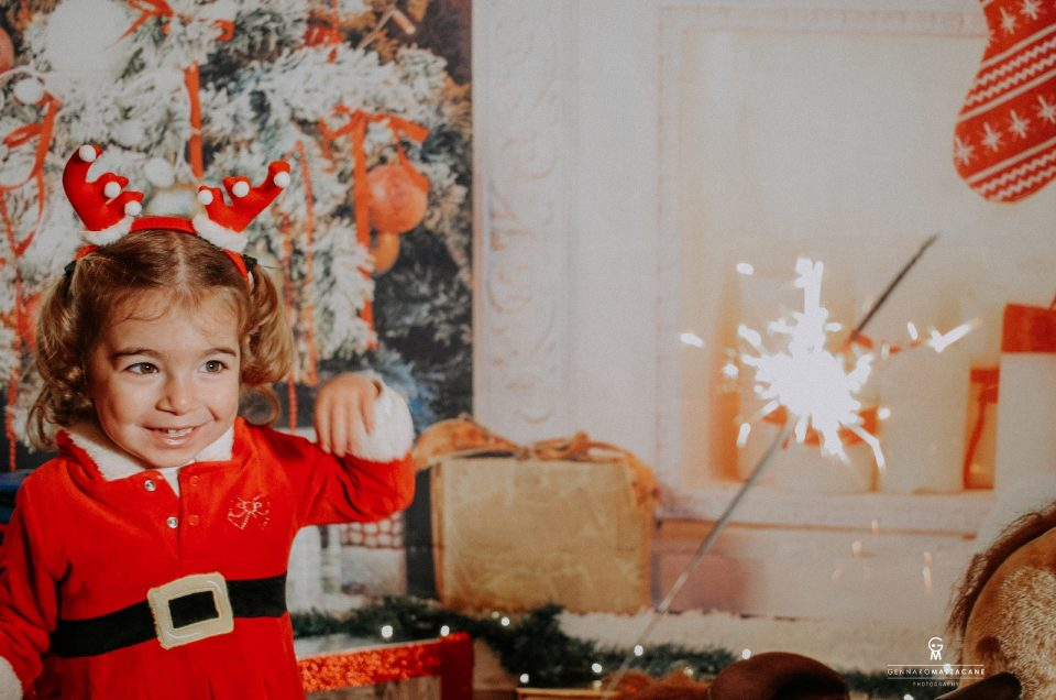 foto di Natale bambini