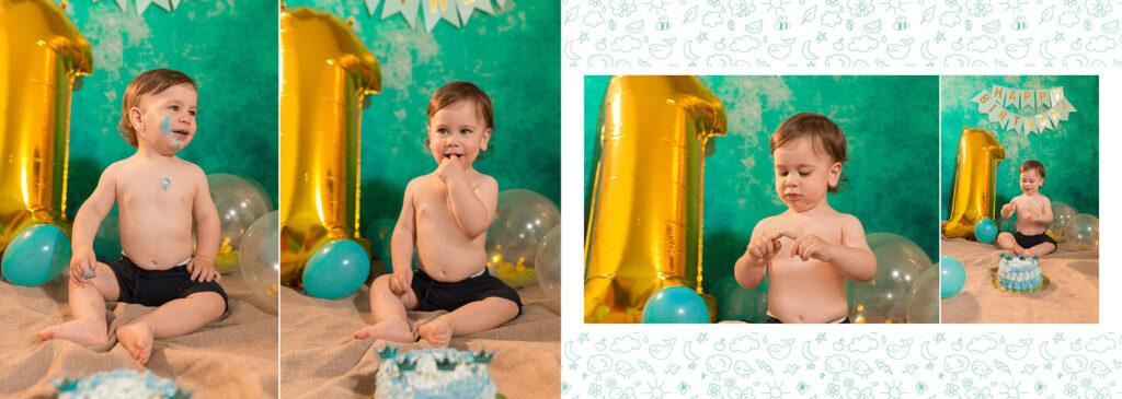 foto torta bambini primo compleanno